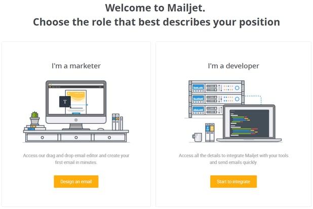 integrate mailjet