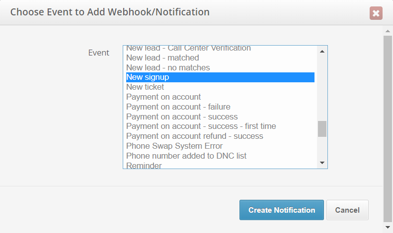webhooks/notifications best practices