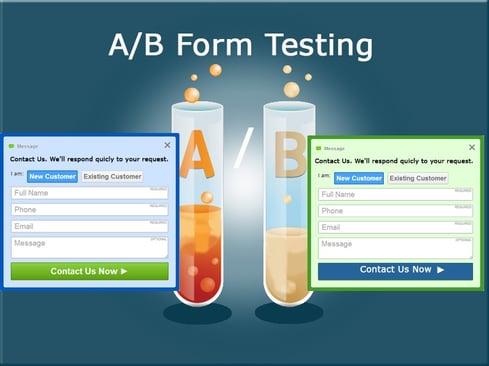 A/B Form Testing
