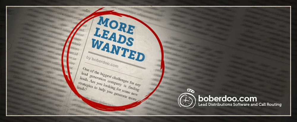How To Get Leads - boberdoo.com