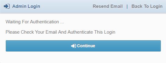 login authentication
