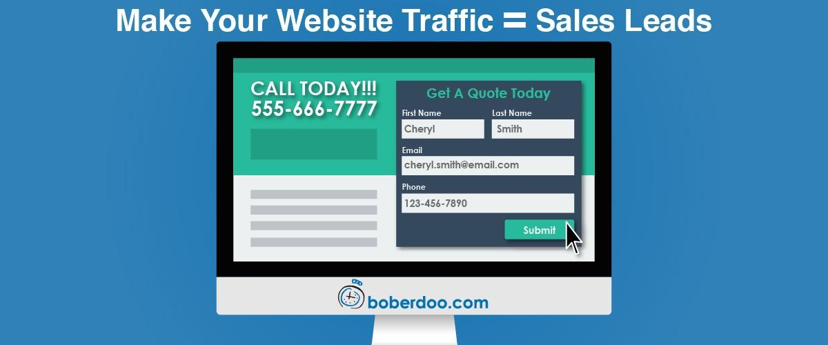 sales lead boberdoo lead distribution web