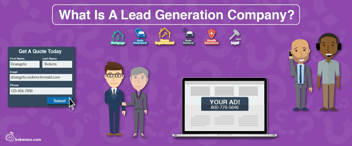 what is a lead generation company boberdoo