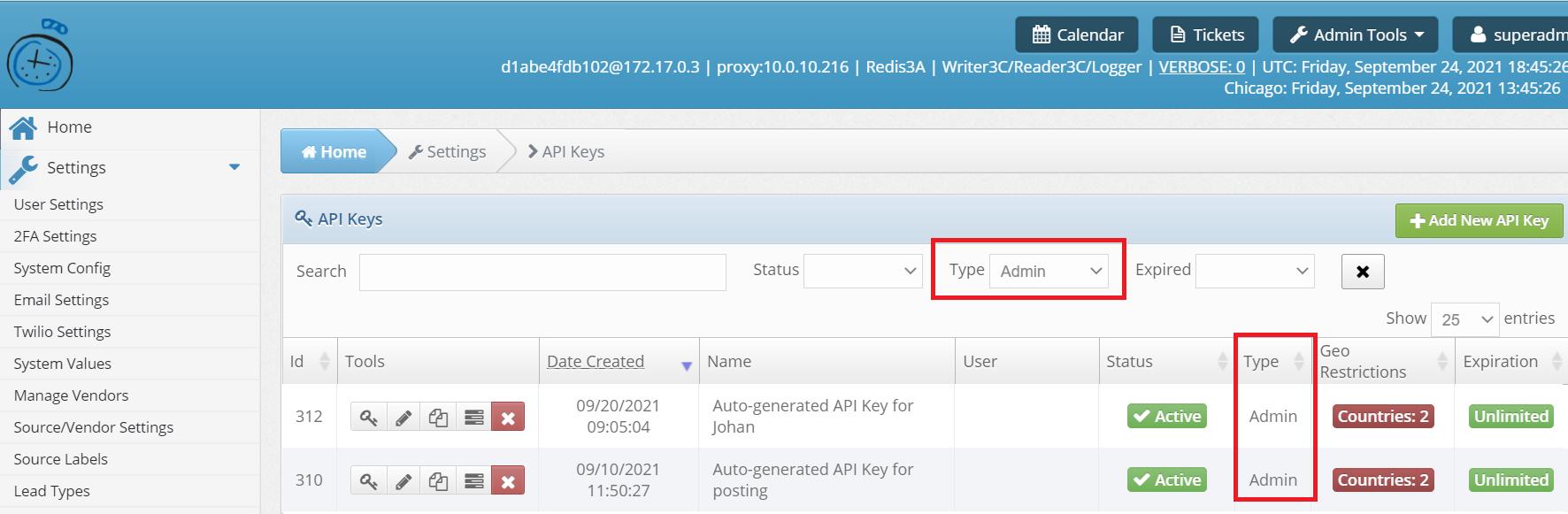 API Key Search