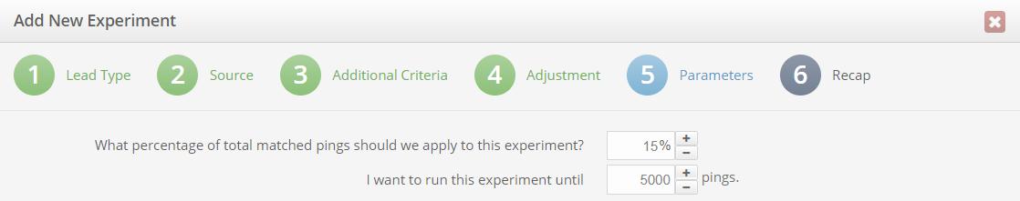 setting up a bid experiment
